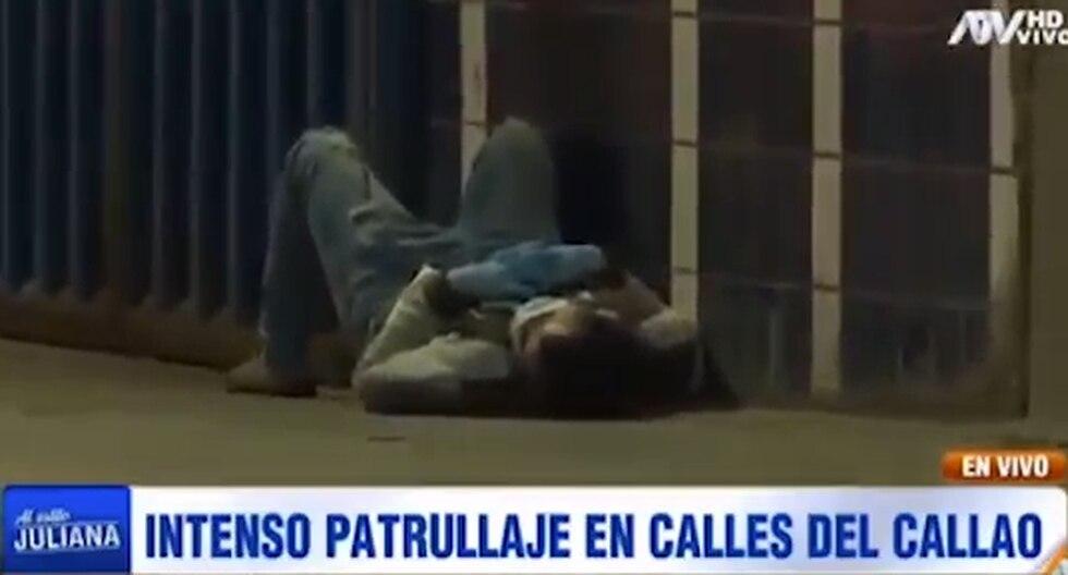 Callao: Hombre con presuntos síntomas de coronavirus necesita ayuda (VIDEO)