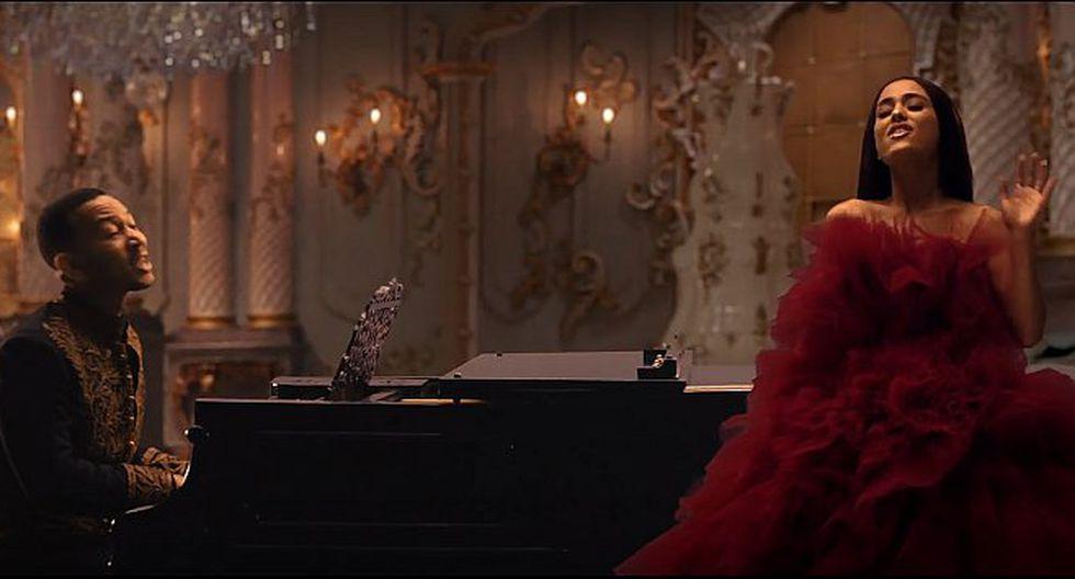 Ariana Grande y John Legend estrenan videoclip de La Bella y la Bestia (VIDEO)