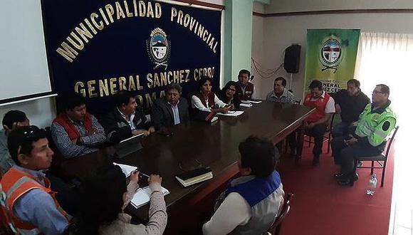 No suspenderán trabajos por lluvias en la vía Moquegua - Arequipa