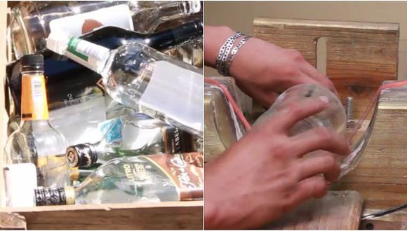 Honduras: grupo de jóvenes transforman las botellas de vidrio en esto