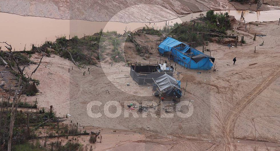 Impactantes imágenes de los efectos de la minería ilegal en Madre de Dios (FOTOS)