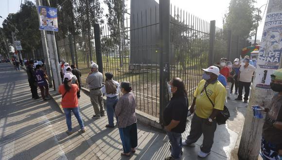 Establecimiento de inmunización a cargo de la Diris Lima Centro registró más de 12.000 inoculados en la segunda vacunatón.