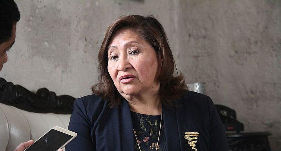"""Ana María Choquehuanca: """"También deberían detener a Toledo, Alan García y a la exalcaldesa de Lima"""""""