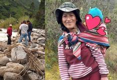 Hallan cuerpos de madre de familia y su hijo de un año reportados como desaparecidos en Cusco