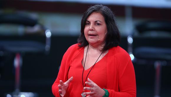 La congresista Rocío Silva Santisteban detalló que la sesión de esta noche se canceló y no se tiene una nueva fecha para reunirse. (Foto: Andina)