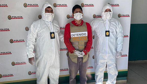 Huánuco: Policías se camuflan como fumigadores y capturan a ex alcalde