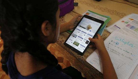 Clases virtuales: 341 casos de ciberacoso se reportaron en lo que va de la pandemia. (Foto: Minedu)
