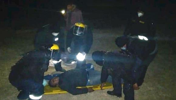 Despiste de vehículo deja varios heridos en la vía Azángaro-Juliaca