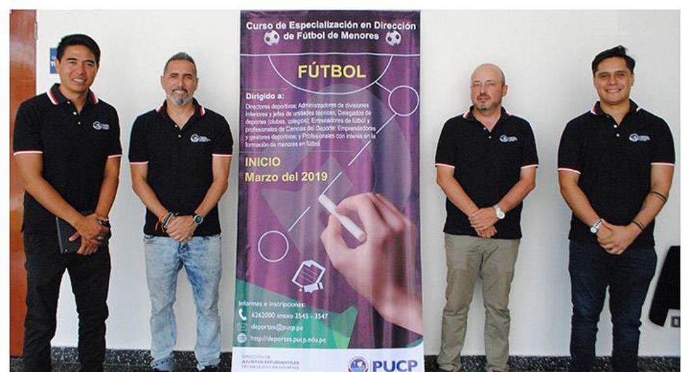 Universidad peruana presenta Curso de Especialización en Dirección de Fútbol de Menores