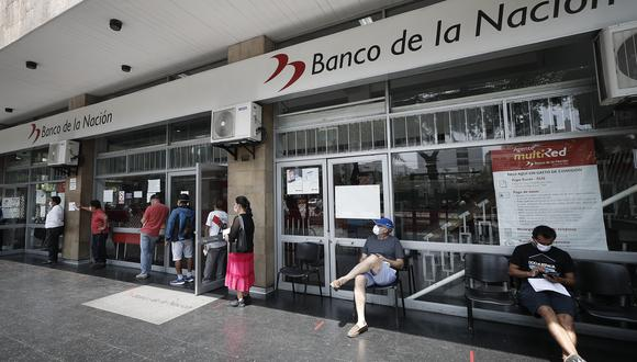 Deudas por no sufragar en los comicios se efectúan a través del Banco de la Nación. (Foto: Cesar Campos / GEC)