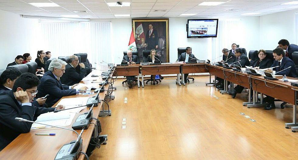 Comisión de Defensa Nacional otorgó facultades legislativas en materia de seguridad