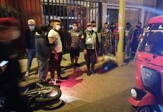 Sujetos en motocicleta asesinan de 7 balazos a ciudadano venezolano en Ica