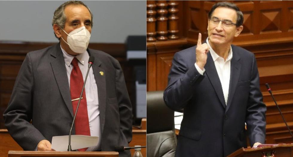 """Ricardo Burga critica a Martín Vizcarra por ir al Congreso sin corbata: """"Es una falta de respeto"""" (VIDEO)"""