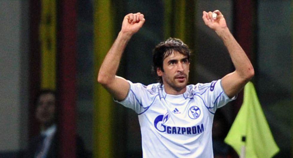 Raúl González Blanco perteneció a Schalke 04 en dos temporadas. (Foto: AFP)