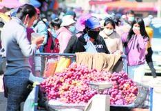 Esperan reducir comercio informal en un 70%  en Huancayo con autorización para abrir comercios
