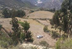 Camioneta cae a abismo y mueren 2 trabajadores del gobierno regional de Ayacucho