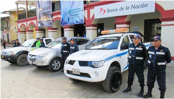 Comisaría de Usquil recibe tres camionetas para luchar contra la inseguridad