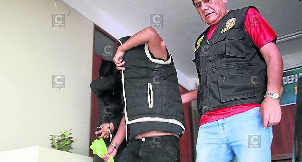 Arequipa: Policía detiene a dos acusados de violación en Cayma