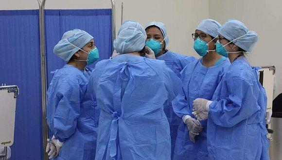 65 enfermeras se contagiaron con COVID-19 en la región Puno