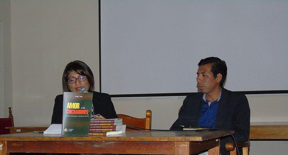 """Hugo Supo presenta su libro """"Amor a los chicharrones"""""""