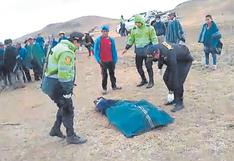 Hombre es asesinado de dos puñaladas en el distrito de Chalaco