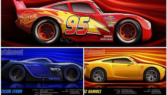 Cars 3: Estos son los nuevos autos que llegarán a la película (VIDEO)