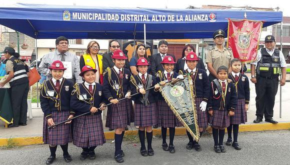 Colegios Auza Arce y José de San Martín se llevaron los laureles