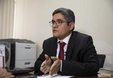 José Domingo Pérez: Fiscalía solicita mayor protección policial por marcha hacia su casa