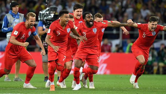 Inglaterra clasifica a cuartos del Mundial de Rusia 2018 tras vencer a Colombia por penales (4-3)