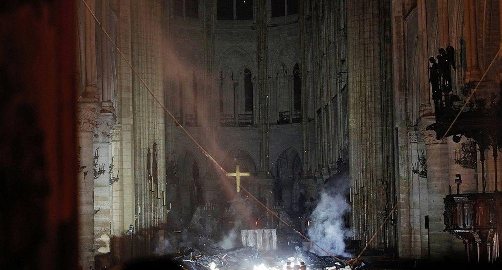 Notre Dame: Primeras imágenes de la catedral luego del funesto incendio (FOTOS)
