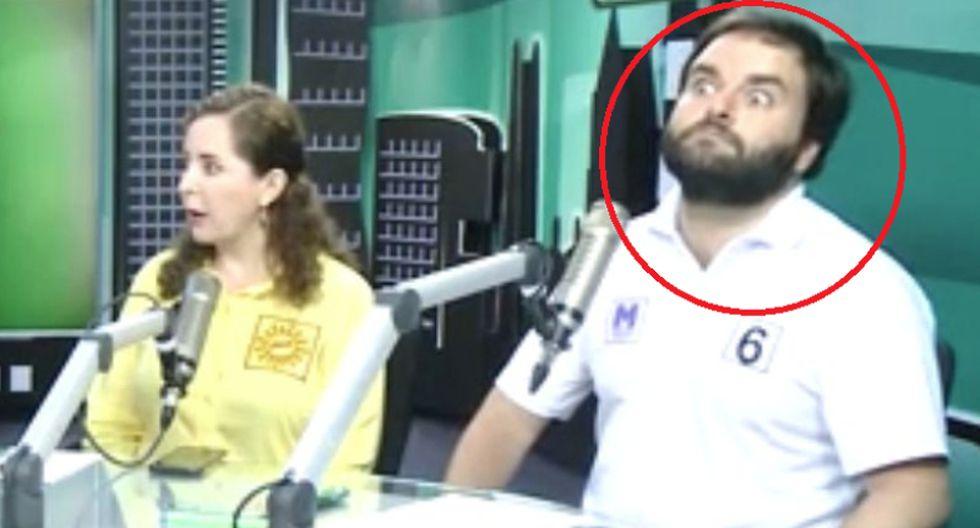 La reacción de Alberto de Belaunde al escuchar a Bartra decir que 'el gobierno enseña a las niñas a masturbarse'