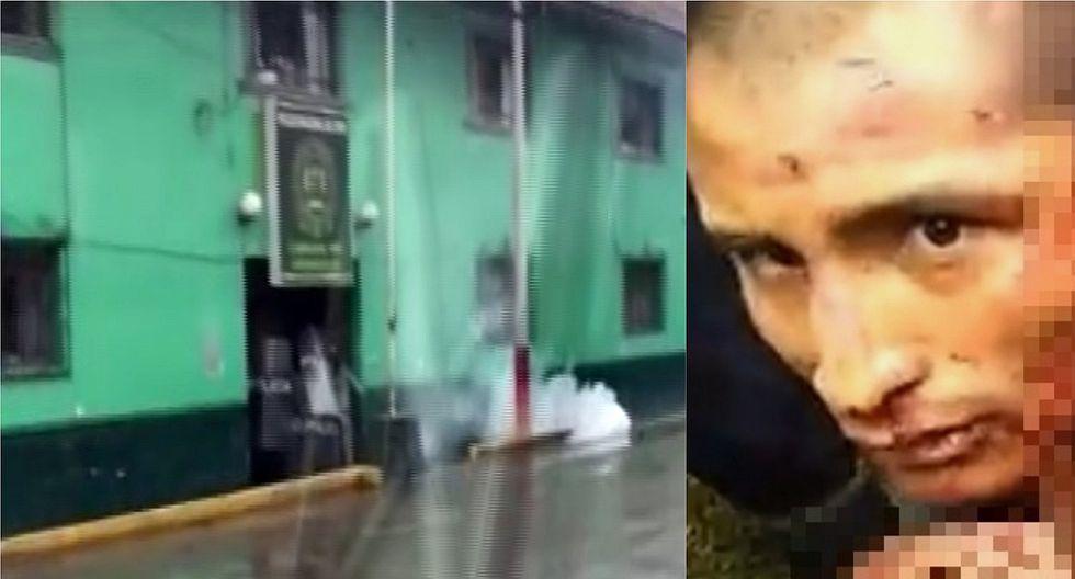 Andahuaylas: Más de 1000 ciudadanos intentaron sacar de comisaría al confeso asesino de dos niñas para lincharlo