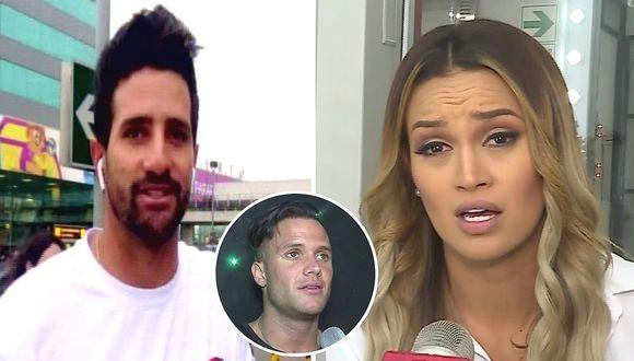 Stéfano Peschiera habló sobre las salidas de Angie Arizaga con Fabio Agostini (VIDEO)