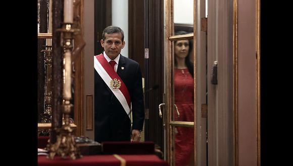 Ollanta Humala buscará postular por tercera vez a la Presidencia: perdió en la segunda vuelta del 2006 y ganó la del 2011. (Foto: GEC)