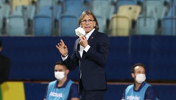 Ricardo Gareca, entrenador de la selección peruana. | Foto: AFP
