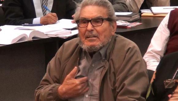 El líder de Sendero Luminoso se negó a ser trasladado a un hospital.