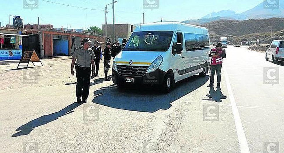 Arequipa: liberan a 8 detenidos implicados en agresión a inspectoras de Sutran