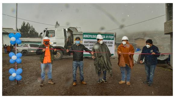 Trabajos permiten reactivar la economía local en el mencionado distrito que se ubica en la provincia de Otuzco.