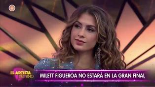 """Milett Figueroa fue eliminada de """"El Artista del Año"""" por decisión del jurado (VIDEO)"""
