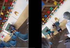 Familias rivales se encontraron en vacunatorio y se pelearon lanzándose sillas en Brasil (VIDEO)