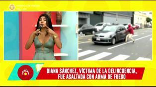 """Diana Sánchez tras ser asaltada con arma de fuego: """"Me han puesto la pistola sobre mí. Comencé a llorar"""" (VIDEO)"""