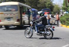 Reinician entrega de licencias para motos en la Municipalidad de Arequipa