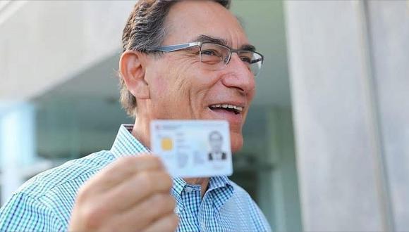 Vizcarra pide que voten teniendo en cuenta el bienestar del país