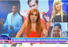 Magaly Medina se burla de videntes por no acertar el resultado de la segunda vuelta electoral (VIDEO)