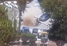 Israel: enorme socavón se traga varios autos estacionados en Jerusalén