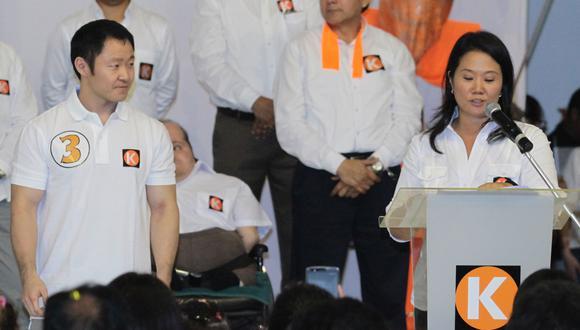 Mediante sus redes sociales, Kenji Fujimori volvió a respaldar la candidatura de su hermana. (Foto: César Grados/GEC)