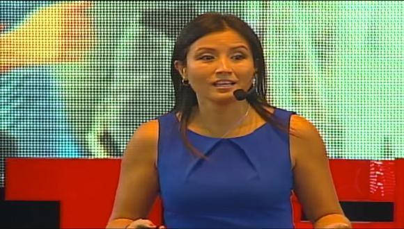Chong se convierte en la única mujer latinoamericana en el grupo seleccionado para el evento TED Fellows 2021. (Captura YouTube /TEDx Talks)