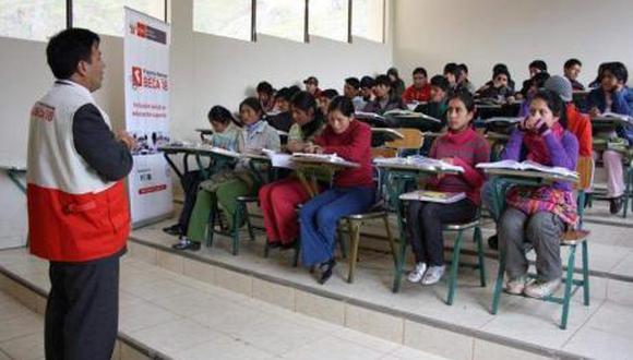 Pronabec puso a disposición 400 becas integrales para los hijos de los profesores. (Foto: GEC)