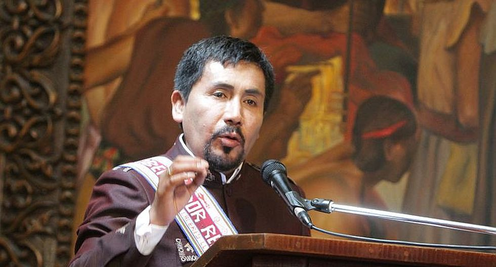 Fiscalía recibe nuevas pruebas en contra de Elmer Cáceres Llica por caso de protestas
