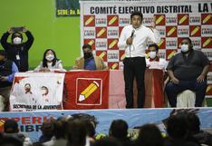 Perú Libre tendrá una reunión extraordinaria este miércoles 13 por Asamblea Constituyente